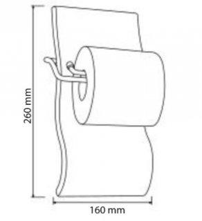Porte papier assorti gamme SAHARA