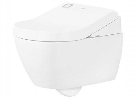 WC lavant et séchant ViClean-U+ sans bride - Villeroy et Boch