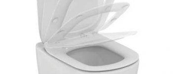 Cuvette suspendue AquaBlade TESI + Abattant frein de chute