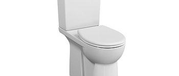 WC à poser PMR Conforma sortie duale avec bride